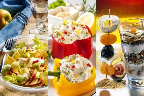 1200 Kalorien Diät für Vegetarier