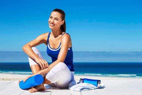 Fitness-Übungen, die Haut und Körper straffen