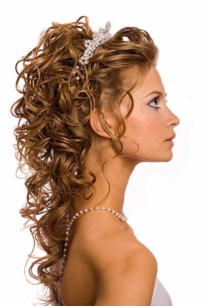 Hochzeitsfrisuren und Brautfrisuren für lange Haare