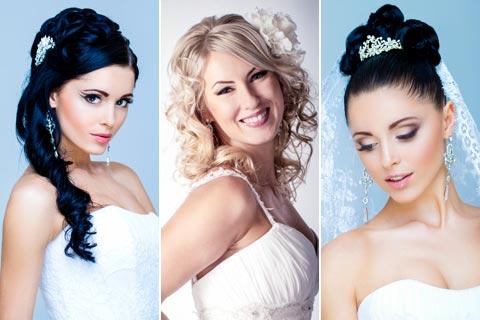 Hochzeitsfrisuren und Brautfrisuren Bilder