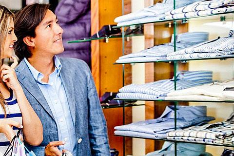 Konfektionsgrößen für Damen- und Herrenbekleidung