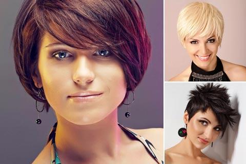 Schöne Damen-Kurzhaarfrisuren Bilder