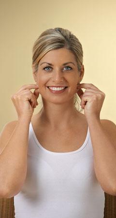 Das Gesicht straffen mit Zupfmassage