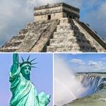 weiter zu - Reiseländer und Reiseziele in Nordamerika
