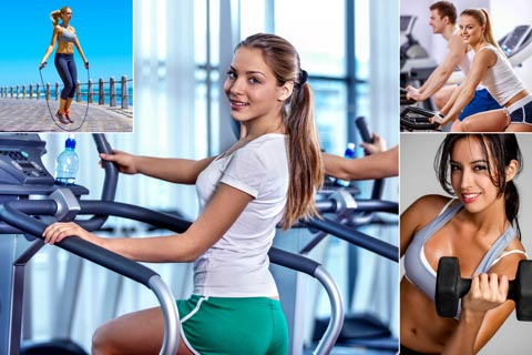 Fitnessgeräte und Sportgeräte