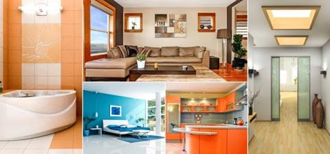 Farbgestaltung in Räumen, Räume mit Farbe gestalten