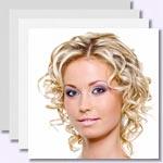 zur Bildergalerie - Mittellange und kurze Haare mit Locken