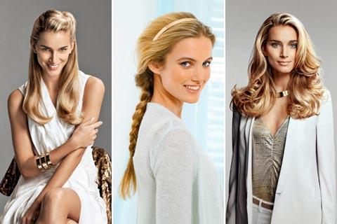 lange haare stylen frisuren fà r lange haare mit anleitungen
