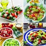 weiter zu - Leckere Salatrezepte