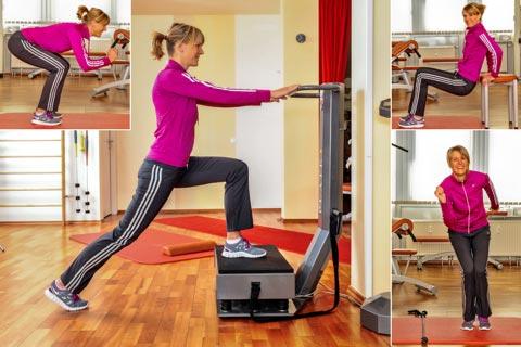 Skigymnastik Übungen - Bildergalerie
