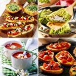 zur Übersicht - Vegetarische Vorspeisen und Snacks