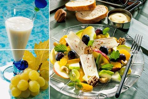 Gesunde vegetarische Vitamin-Diät - Rezepte für 5 Tage