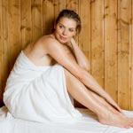weiter zu - Sauna - bei gesunder Wärme entspannen