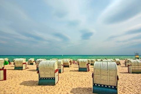 Entspannen im Urlaub an der Ostseeküste