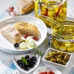weiter zu - Antipasti mit Mozzarella