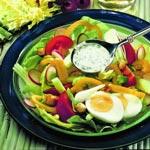 weiter zu - Bunter Fitness-Salat