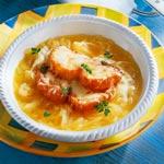 weiter zu - Französische Zwiebelsuppe