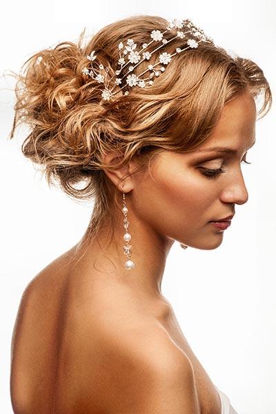 Haardraht mit Kristallblüten
