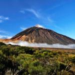 weiter zu - Pico del Teide auf Teneriffa