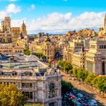 weiter zu - Städte in Spanien