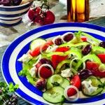 weiter zu - Griechischer Salat mit Feta