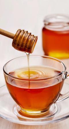 Honig Anwendung