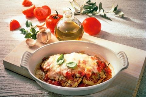 Mittagessen, Scaloppina alla Mozzarella