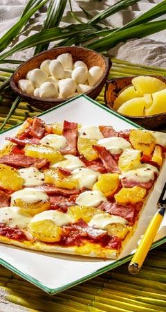 Pizza Rezept für Pizza Hawaii