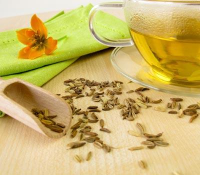 Tee gegen Blähungen