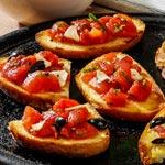 weiter zu - Tomaten-Bruschetta
