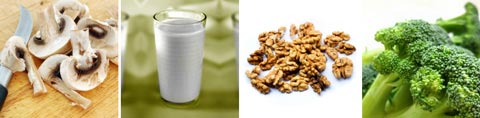 Vitamin B in Nahrungsmitteln