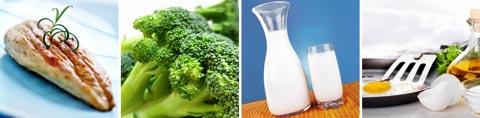 Vitamin B2 in Nahrungsmitteln
