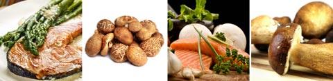 Lebensmittel mit Vitamin D / Tabelle