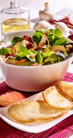 Herbstsalat - Salat mit Kürbis