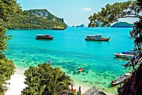 Reiseziele für Urlaub in Thailand
