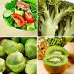weiter zu - Lebensmittel mit Vitamin K / Tabelle