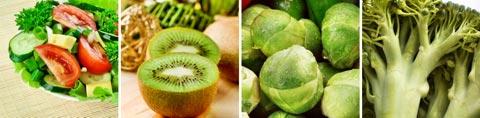 Lebensmittel mit Vitamin K / Tabelle