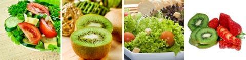 Lebensmittel mit Vitamin K / Tabelle II & III