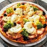 zum Pizza-Rezept - Pizza mit Lachs