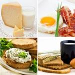 weier zu - Lebensmittel mit Vitamin B2 / Tabelle