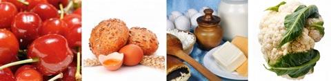 Lebensmittel mit Folsäure / Tabelle