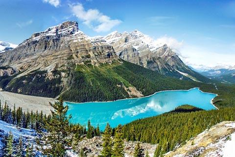 Reiseziele für Urlaub in Kanada - Rocky Mountains