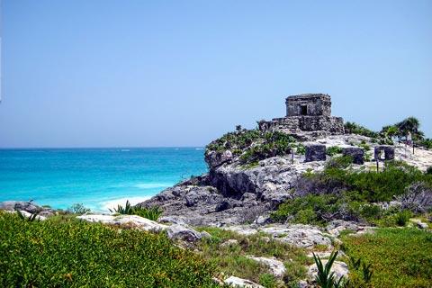 Reiseziele für Urlaub in Mexiko - Tulum auf Yukatan