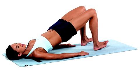 Fitness-Übung: Beckenlift für Oberschenkel und Po