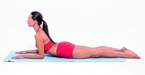 Stretching Übung für einen straffen Bauch: Ausgangsposition