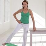 weiter zur Fitness-Übung für schlanke Beine