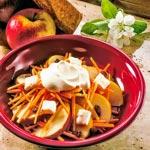 weiter zu - Apfel-Möhren-Salat - Rohkostsalat