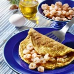 weiter zu Winter Rezepte - Krabben-Omelette