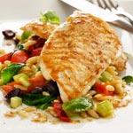 weiter zu - Pasta-Salat mit gegrilltem Hähnchen