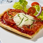 zum Pizza-Rezept - Pizza Margherita